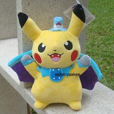 "Pokemon Go Cosplay Bat Pikachu 10.5"" Plush Toy Cuddly Stuffed Animal Soft Doll"