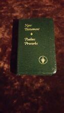 Gideon's NEW TESTAMENT PSALMS PROVERBS Revised Berkley Edition 1978