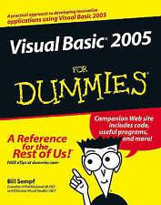 Visual Basic 2005 For Dummies, Sempf, Bill, New Book