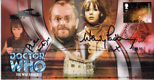 """Doctor Who """"The War Games"""" Collectable Stamp Cover - Signed MADOC & PADBURY"""