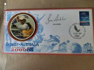 2000 Olympic Games - Sydney - signed Ben Ainslie