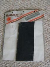 BNIP Vintage Sunarama 20 Den Micromesh Stockings with Metallic Seams
