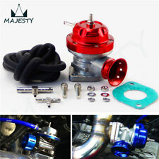 """Turbo Charger BOV Blow Off Valve Type-S/RS +2.36"""" Alloy Flange Adapter Pipe Red"""