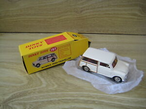 MORRIS MINI TRAVELLER  by DINKY/ATLAS  No 197 in   CREAM  Absolutely MINT