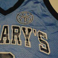 SAINT MARY'S BASKETBALL Jersey MARY Catholic Church Parrish CYO Team size Medium