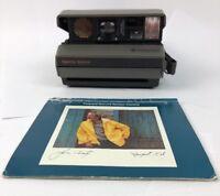 Vintage Polaroid Spectra System Auto Focus Film Instant Camera W Manual
