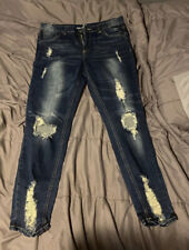 Women's Almost Famous Skinny Jeans Size 11 Midrise