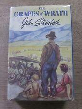 THE GRAPES OF WRATH by John Steinbeck - 1st/4th HCDJ VG+ Viking 1939 $2.75