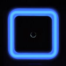 LED Light Auto Induction Sensor Control Bedside Night Light Wall Lamp US Plug