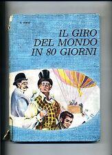 G.Verne # IL GIRO DEL MONDO IN 80 GIORNI # La Sorgente 1965