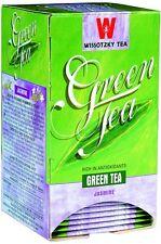 SweetGourmet Wissotzky Jasmine Green Tea, 20 Tea Bags FREE SHIPPING!
