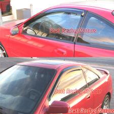 JDM Style Side Window Visors Fits 94-01 Acura Integra 2dr