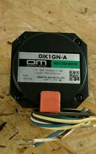 OM Oriental motor OIK1GN-A in good condition NEW. 1 W 100V 0.13A           1D