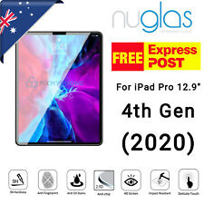 """Genuine NUGLAS for iPad Pro 12.9""""  2020 4th Gen Screen Protector Tempered Glass"""