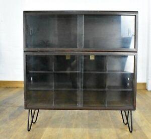 Vintage simplex sliding door bookcase