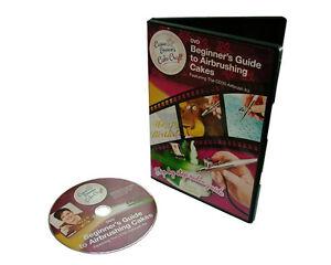 Model Craft Guide Pour Utilisation Dell'Aérographe Sur Gâteau CD3101 Design