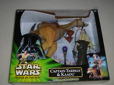 NEW STARS WARS POWER OF THE JEDI CAPTAIN TARPALS & KAADU ACTION COLLECTION NIB