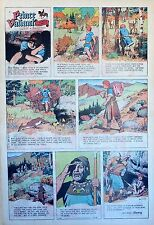 Prince Valiant by Hal Foster - scarce full page Sunday comic - January 18, 1970