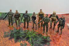 BBI Elite Force 8 Action Figure Lot Special Forces 3 3/4 3.75 Seals Squad 1/18 2