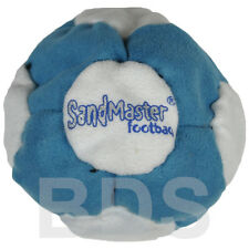 SandMaster Dirt Bag Hacky Sack Foot Bag Blue White White Brown red Sand SM31