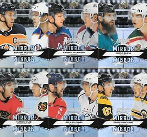 U PICK EM LOT 2020-21 20-21 UD MVP Mirror Mirror Variation Insert card set