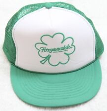 Green Baseball Hat One Size Fits All Adult Snap Back Irish Fitzgeralds Casino H7