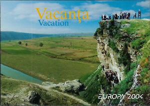 MOLDOVA BOOKLET :2004 Europa pane of three pairs SG484-5  MNH