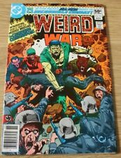 WEIRD WAR TALES #93 - 1ST APPEARANCE OF THE CREATURE COMMANDOS