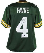 Packers Brett Favre Gunslinger Authentic Signed Green Jersey Player hologram