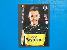 Figurine Panini 100 Giro d'Italia n.226 Philippe Gilbert Quick Step