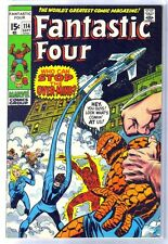 FANTASTIC FOUR #114 Who Can Stop Over-Mind? Marvel Comic Book ~ VF