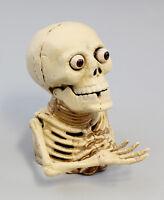 9937262-dss Figura Hucha Hierro Esqueleto con Mano Mecánico