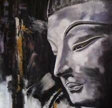 Buddha Oil Painting 24x24 NOT a poster.textured lightly, framing available.