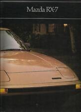 MAZDA RX7 SALES BROCHURE  1981 USA MARKET