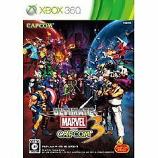 ULTIMATE MARVEL VS. CAPCOM Street Fighter Xbox 360 Xbox360 Import Japan
