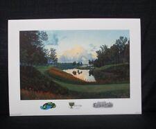 The President's Cup 2000 Robert Jones Golf Club Lithograph Ken Venturi USA