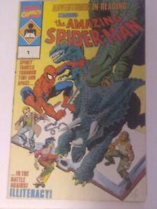 Marvel Amazing Spiderman 1   Adventures in Reading fair Condition unread