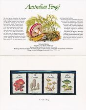 Australia 1982 = AUSTRALIAN FUNGI SET Stamp Pack = MINT XF NH POP