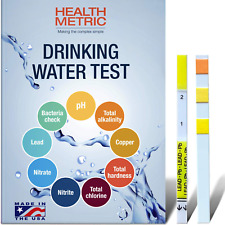 Drinking Water Test Kit for Home Tap and Well Water, Easy to Use Testing Strips