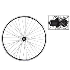 Weinmann LP18 Rear Road Bike Wheel 700c BLACK 36h QR 8-10 Speed Shimano/SRAM