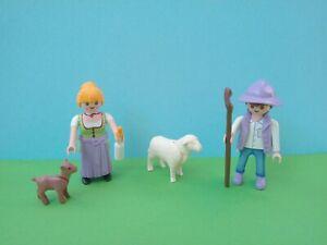 Playmobil Milka Sonderedition 70161 und 70163 Schaf Ziege