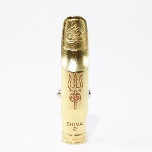 Theo Wanne SHIVA2 Gold 7* Tenor Saxophone Mouthpiece DEMO MODEL