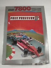 Atari 7800 - Pole Position II 2 - Brand New Factory Sealed - Free Shipping