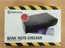 Mercury Bank Note Checker with UV Backlight