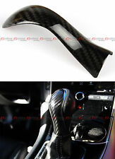 FOR 2015-17 INFINITI Q50 Q50S DIRECT ADD-ON CARBON FIBER SHIFT KNOB COVER ACCENT