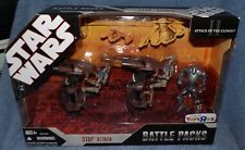 STAR WARS BATTLE PACKS 2007 STAP ATTACK TOYS R US EXCLUSIVE