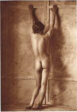 1920's Vintage Female German Nude Model Art Deco Twenties Photo Gravure Print
