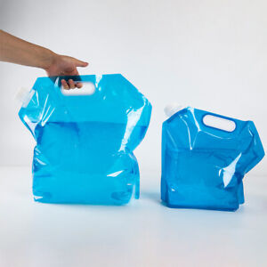Outdoor Water Bags Foldable portable Drinking Camp Cooking Picnic BBQ BFY