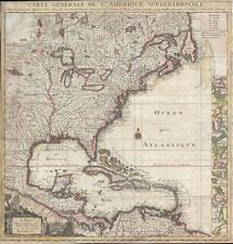 1746 Popple Key Map of North America (Crepy)