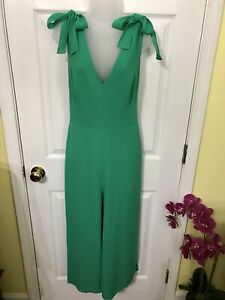 Lilly Pulitzer NWT Danni Jumpsuit Emerald Isle Size 10 Stunning!